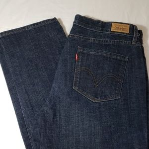 NWOT LEVI'S JEANS PERFECT WAIST STRAIGHT 525